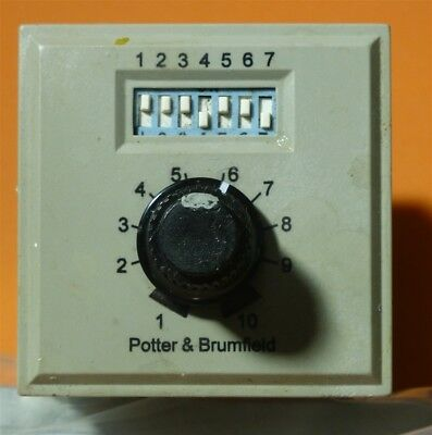 Potter and Brumfield cns-35-92 Programmable time delay four function relay