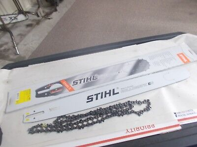 "Stihl OEM 25"" Bar & Chain 3/8"" 84DL 660 460 362 066 046 3003-000-8830 #GL-SN0C"