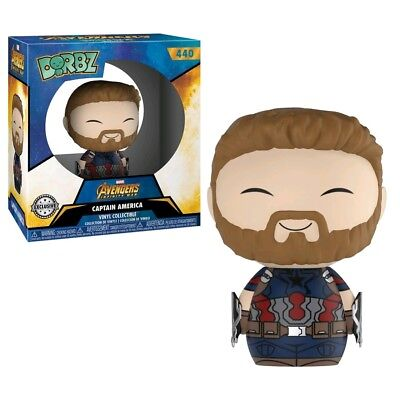 Dorbz--Avengers 3: Infinity War - Captain America US Exclusive Dorbz [RS]