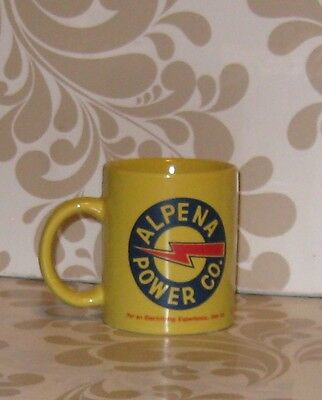 Alpena Power Co. coffee cup with electric bolt emblem w/not much wear, free ship