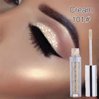 12colors Eyeshadow Liquid Waterproof Glitter Eyeliner Shimmer Makeup Cosmetics