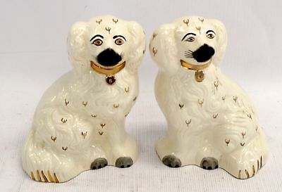 Vintage Pair of BESWICK Wally Dogs (1378 5) Mantel Ornaments   - S67