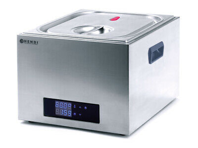 Hendi 13L CNS Gastronomy Vacuum Device Water bath Low temperature cooking GN 2/3