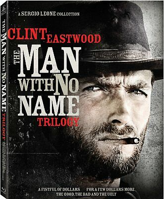 The Man with No Name Trilogy - Clint Eastwood - New Sealed Blu-ray