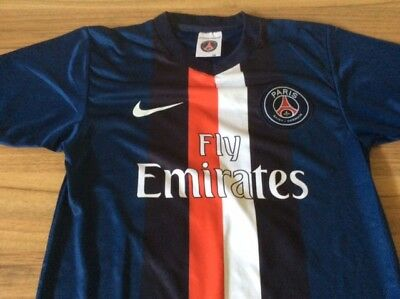 Psg Paris Saint Germain Official Football Shirt Boys Size 140  Uk 28/30