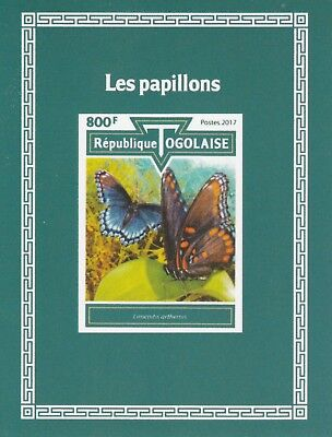 Togo 7528 - 2017  BUTTERFLIES imperf deluxe sheet unmounted mint