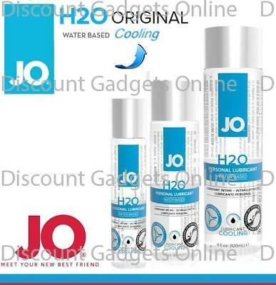 System Jo H2o Cooling Waterbased Cool Lubricant Personal Lube