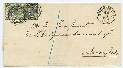 AD Thurn & Taxis Brief Oppenheim Darmstadt 1859