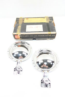 Box Of 2 New Bs&b TYPE BSV 4in Rupture Disc 146psi Min 161psi Max @72f