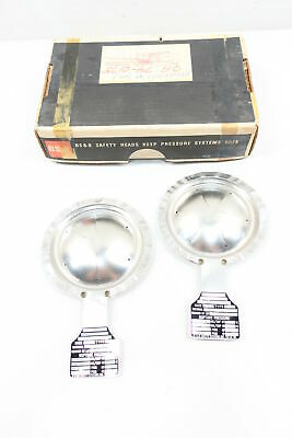 Box Of 2 New Bs&b TYPE DV 3in Rupture Disc 18.5psi @ 72f 16psi @ 250f