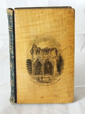 Antique Mauchline-Ware Scripture Text Diary-Scott's Tomb & Abbotsford