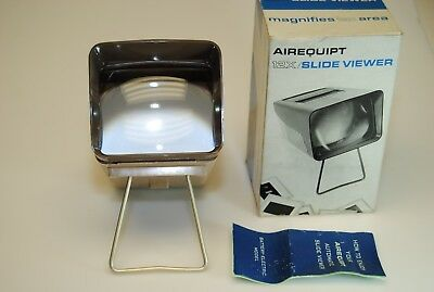Airequipt  Magnifies 12x Slide Viewer For 35mm and Super Slides