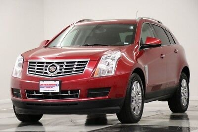 Cadillac SRX Luxury AWD  Leather Sunroof GPS Crystal Red