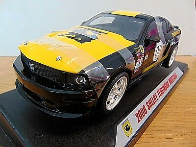 Ford Mustang Shelby Terlingua * 2008 * schwarz / gelb * 1:18 Shelby Collectibles