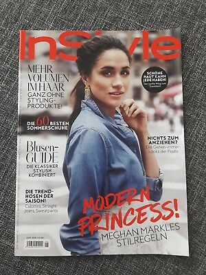 Instyle Magazine Juni 06 2018 Megan Markle Wie Neu Germany Magazin June 6