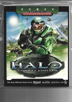 Halo, Combat Evolved,Official game guide, new condition.