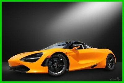 McLaren 720S  2018 Used Turbo 4L V8 32V RWD Coupe
