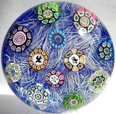 Briefbeschwerer / Paperweight PERTHSHIRE PP12 Millefiori on Lace