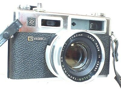 YASHICA ELECTRO 35 GSN Rangefinder Camera With Yashinon DX 45mm f/1.7 Lens - B19