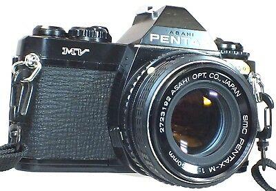 PENTAX MV SLR Camera With SMC Pentax-M 50mm f/1.7 K Mount Lens - R06