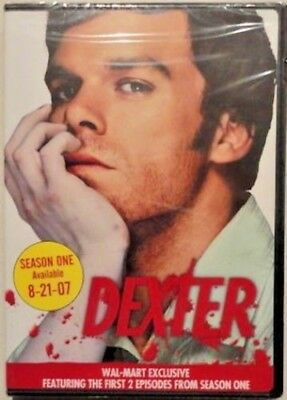 Dexter: 1st Two Episodes Season 1 (DVD, 2007) Wal-Mart Exclusive NEW