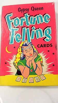 Gypsy Queen fortune Telling Cards Vintage