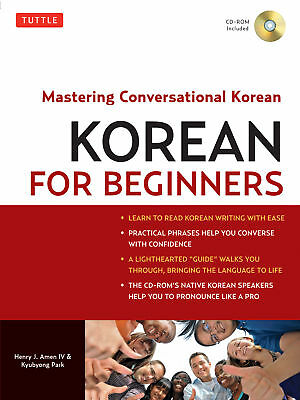 Korean for Beginners 'Mastering Conversational Korean Amen, Henry J.