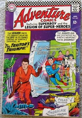 Superboy & the Legion of Super Heroes a LOT of 7 Adventure comics from 1966