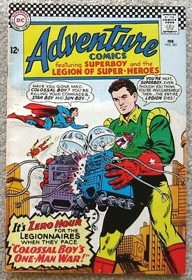Superboy & the Legion of Super Heroes a LOT of 7 Adventure comics from 1965