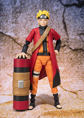 S.H. Figuarts Naruto Sage mode Advanced ver. figure Tamashii Exclusive Bandai