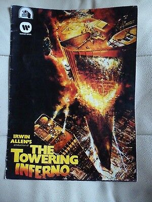 A Towering Inferno Souvenir Fold Out Brochure.