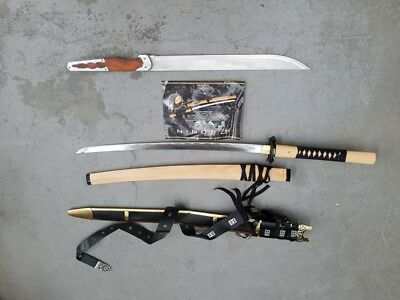 Bulk Lot with Game of Thrones Scabbard and 47 Ronin Official Sword