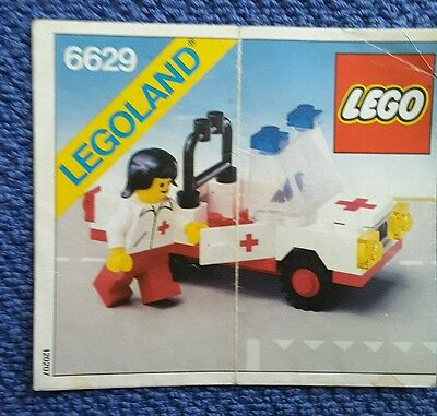 Lego Instructions Only 6629 249 Picclick Uk