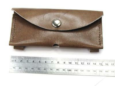 "Australian ""TED THRIFT"" Crafted Hand Made Leather Horizontal Folder Knife Pouch*"