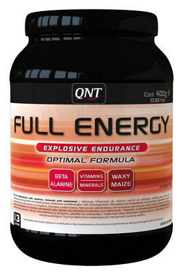 (34,53€/1kg) QNT Full Energy Powder 400g Dose schnelle Kohlenhydrate -Punch-