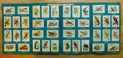 MALTIES Breakfast Cereal Australian Bird Collector Cards Full Set in Album 1950s