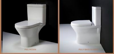 Awesome Rimless Rak Compact D Shape Mini Close Coupled Toilet Wc Unemploymentrelief Wooden Chair Designs For Living Room Unemploymentrelieforg