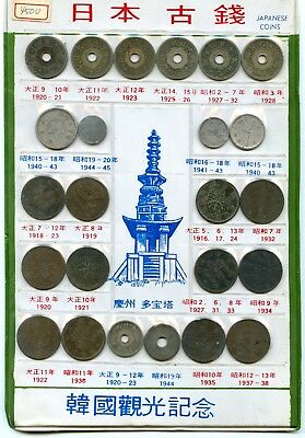 Japan Vintage Coin Collection!!!!!!..starts @ 2.99