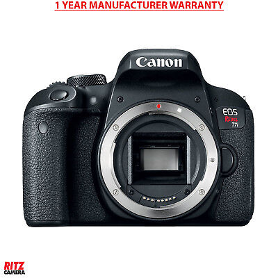 Canon EOS REBEL T7i Body - No Accessories - Generic Box