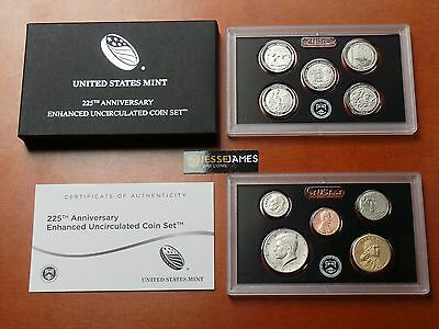 In Hand 2017 S 225Th Anniversary Enhanced Uncirculated 10 Coin Set 17Xc