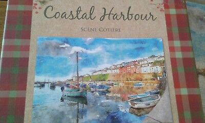 Laura ashley 1000 piece jigsaw puzzle vintage world map 500 laura ashley coastal harbour jigsaw puzzle 1000 piece gumiabroncs Images