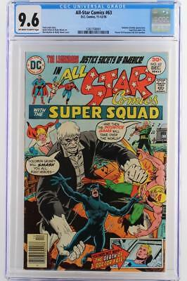 All-Star Comics #63 -NEAR MINT- CGC 9.6 NM+ DC 1976 - A Solomon Grundy App!!!