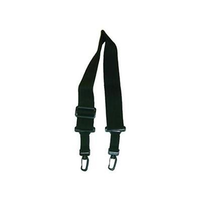 Klondyke 3736 Polyester Banjo Strap With Adjustable Snap-Hooks - Black