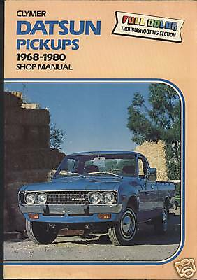 DATSUN Pick-Ups 1968-80 Shop Manual by Clymer 27mm Thick  NOS (new old stock)