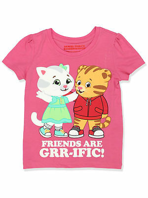 Daniel Tiger Toddler Girls Short Sleeve Tee DTST047