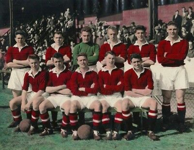 Manchester United  - Youth Team Photo 1955