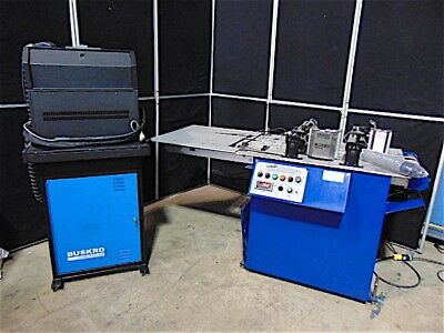 Buskro Econopack Packaging & Mailroom System & BK700 Controller-Powers Up-S3334