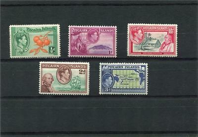 Pitcairn Islands.5 -- Mounted Int G6 Stamps On Stockcard