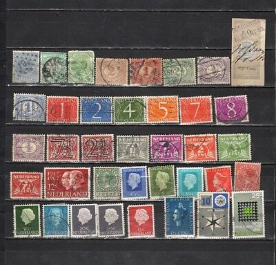 netherlands - Early  Used Stamps (NET175)