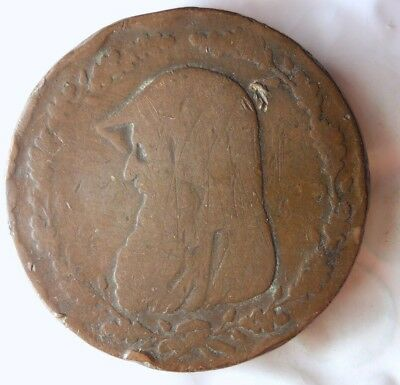 1789 GREAT BRITAIN (ANGELSEY)  PENNY - Great Conder Coin - DRUID - Lot #517
